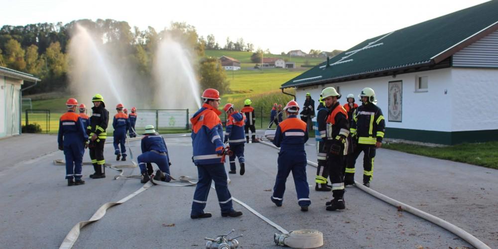 Jugendübung in Gegenbach