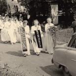 Fahnenweihe 1956-3