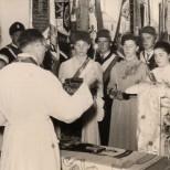 Fahnenweihe 1956-5
