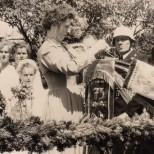 Fahnenweihe 1956-6