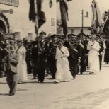 Fahnenweihe 1956-7