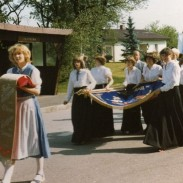 Fahnenweihe 1981-2