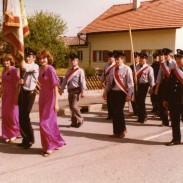 Fahnenweihe 1981-6